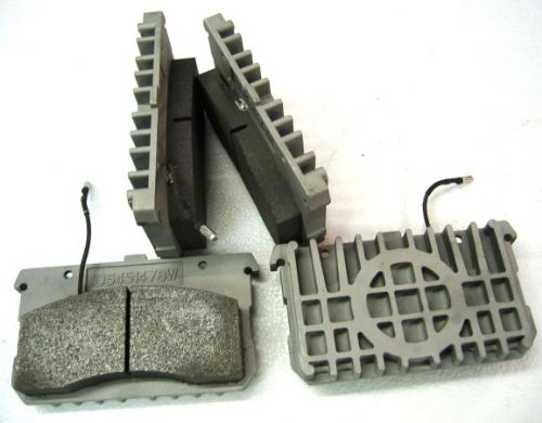 Front brake pad set - D Model 1966 on and SM